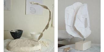 initiation au pl tre direct sur armature week end 2 jours cours sculpture paris. Black Bedroom Furniture Sets. Home Design Ideas