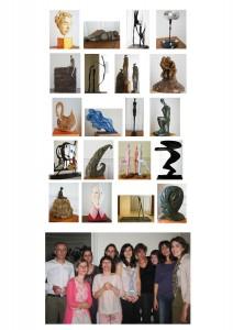 cours et stages sculpture paris 2009 2010